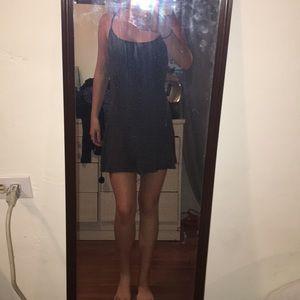 Black and white Brandy Melville mini dress
